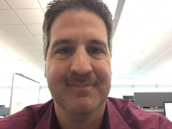 Week 1...Stache is coming in nicely...keep the donations coming, thanks all!!